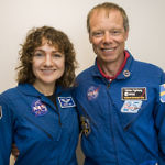 Astrounauterna Jessica och Christer