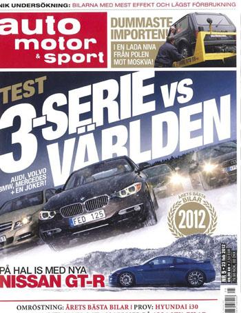 Auto Motor Sport BMW omslag Roger Schederin
