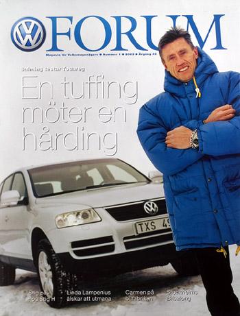 VW Forum omslag Börje Salming