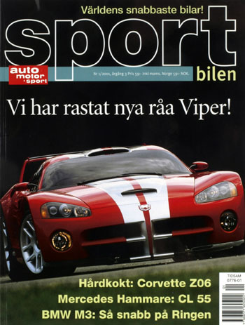 Auto Motor Sport omslag